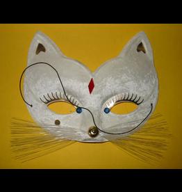 funny fashion/espa Oogmasker kat wit