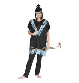 Funny Fashion Flowing Waters Brave Indiaan One Size