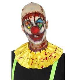 Smiffys Latex Creepy Clown Instant Kit, Yellow