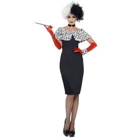 Smiffys Evil Madam Costume Cruella