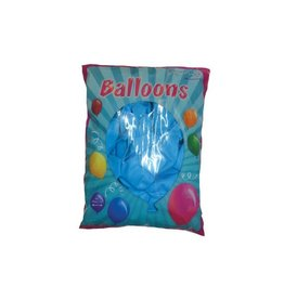 Ballonnen blauw 100 stuks