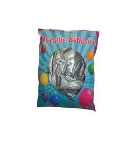 Ballonnen 100 stuks zilver