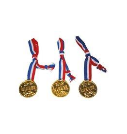medailles op koord 3 stuks