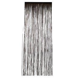 shimmer curtain black 244x91cm
