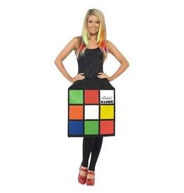 Smiffys Female Rubik's Cube Small
