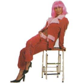 Roze Mantelpak