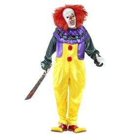 Smiffys Classic Horror Clown