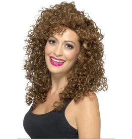 Smiffys Boogie Babe wig brown