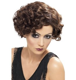 Smiffys 20's flapper wig brown