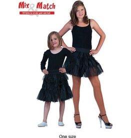 funny fashion/espa Skirt Tulle Black