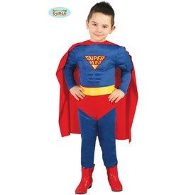 SuperHero Muscle Superman 7-9 jaar