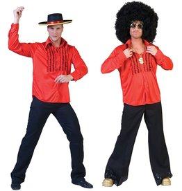 funny fashion/espa Red Saturday night shirt 48/50