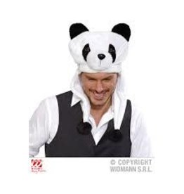 funny panda hat