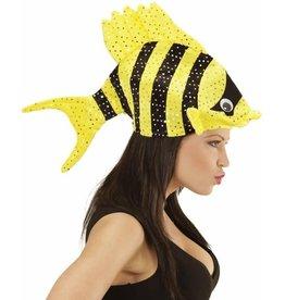 hoed vis gekleurd