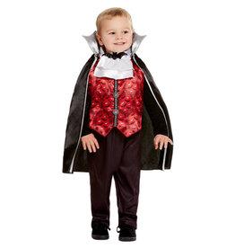 Smiffys Toddler Vampire Costume T1 (1-2 jaar)