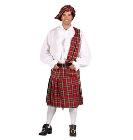Thetru Kilt Set Red Schotse rok met plaid