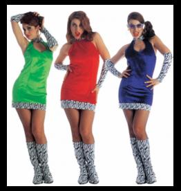 Widmann Go-Go Girl Disco kleedje Medium