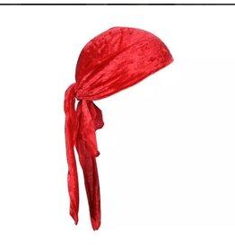 Luxe bandana rood