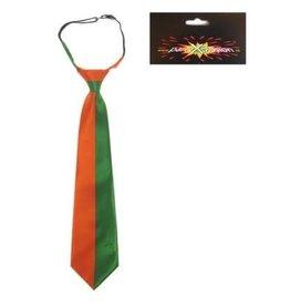 stropdas oranje/groen