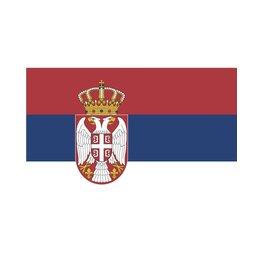 vlag Servië 90 x 150 cm