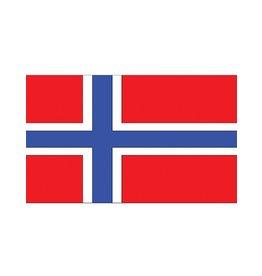 vlag Noorwegen 90 x 150 cm