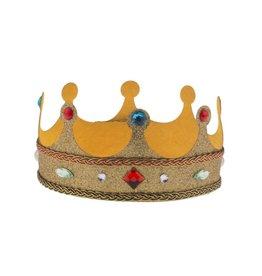 koningskroon met glitter