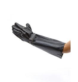 Handschoenen zwart met gesp