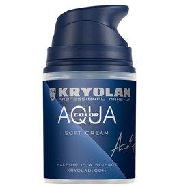 kryolan aquacolor soft cream 50ml deep black