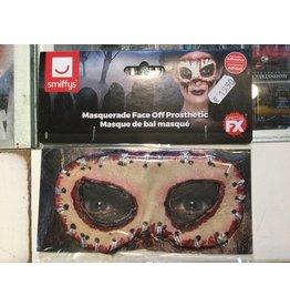 Smiffys Masquerade Face Off Prosthetic