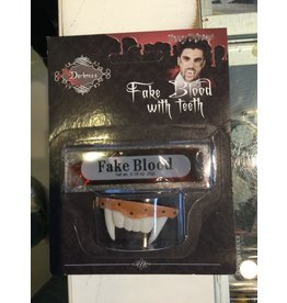 Funny Fashion Fake blood with teeth