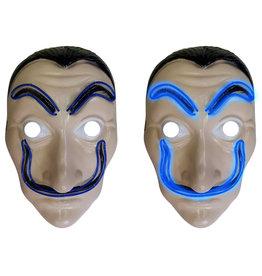 plastiek Dali masker met licht