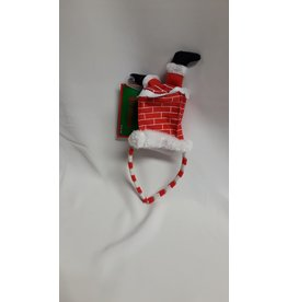 Kerstman in schouw diadeem