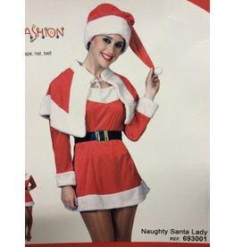 Funny Fashion Naughty Santa lady