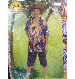 luxe hawaiian boy 7-9 jaar