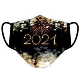 Thetru Mondmasker herbruikbaar Vuurwerk 2021