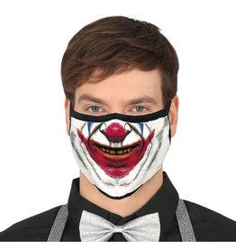 Fiestas Guirca Mondmasker herbruikbaar Clown
