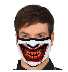 Fiestas Guirca Mondmasker herbruikbaar Joker