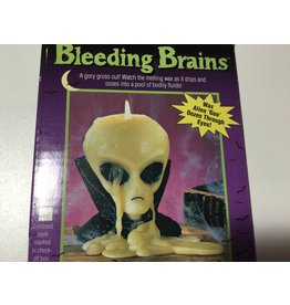 candle bleeding brains alien