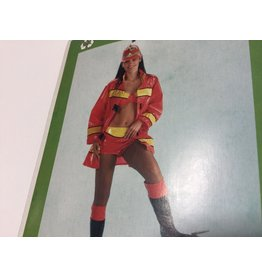 Brandweer Firegirl top en broek