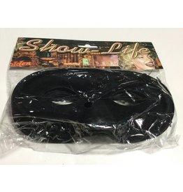 Oogmasker zwart zakje van 20 stuks