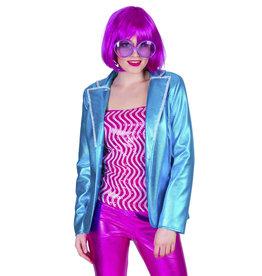 Disco Fever jacket Blauw
