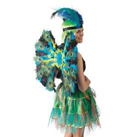 vleugels luxe pauw