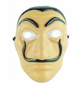 plastiek masker Dali casa de papel