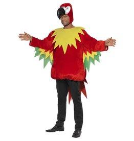 Smiffys Parrot costume M Papegaai