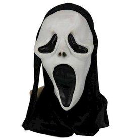 latex masker screaming face met kap