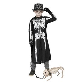 Funny Fashion skelet mantel m 164