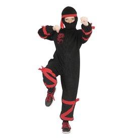 Funny Fashion kostuum ninja m 116