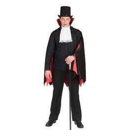 Draculacape met sjabot 1 maat
