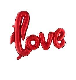 Funny Fashion folieballon LOVE 100 x 67.6 cm