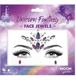 Moon Glitter Face jewels gezicht juweel zelfklevend